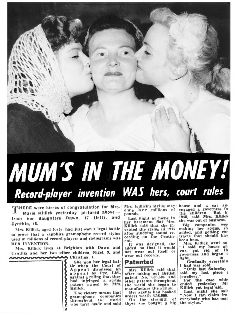 This article was printed by the Daily Mirror on 22.July 1958